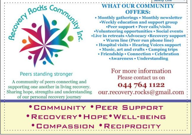 What we Offer – Recovery Rocks Community Inc