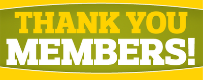 thank you members